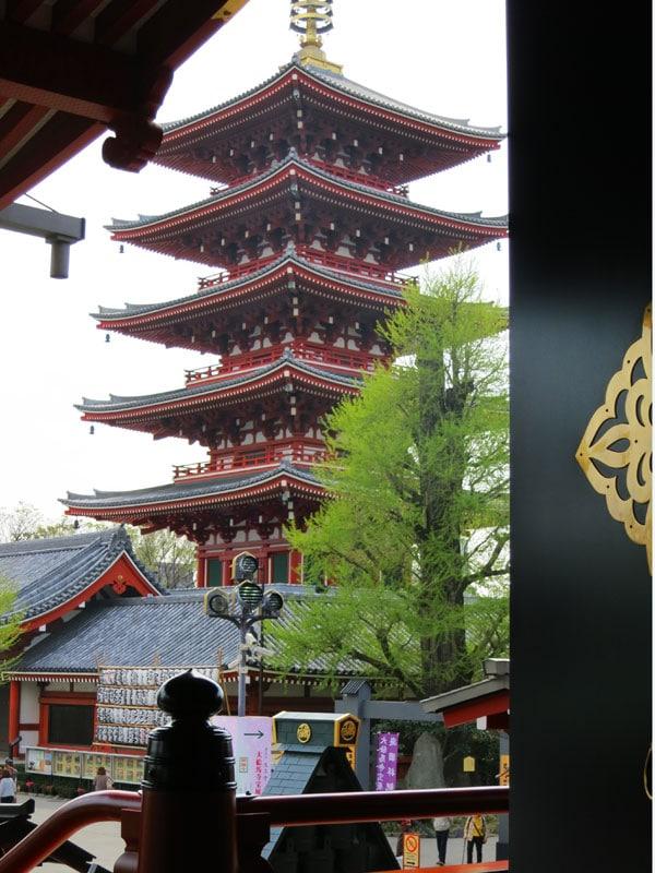 Tokyo-Asakusa-sensoji-pagode