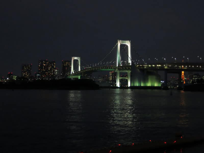 odaiba rainbow bridge 2012