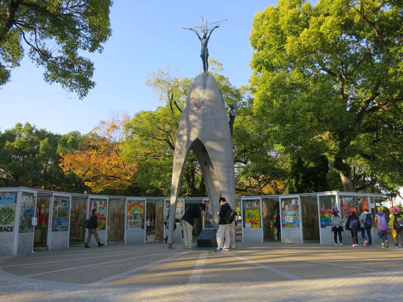 Hiroshima-2017-monument-paix-enfants