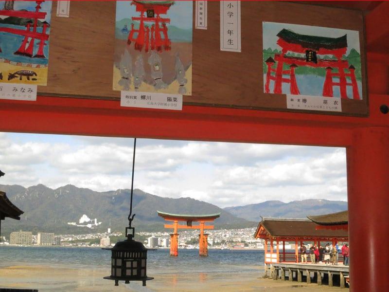 Miyajima-2017-sanctuaire-itsukushima-dessins