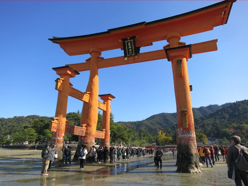 Miyajima-2017-torii-maree-basse