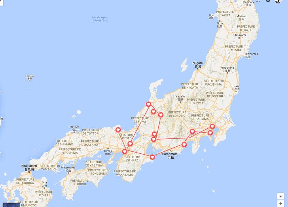 Itinéraire Printemps 2016