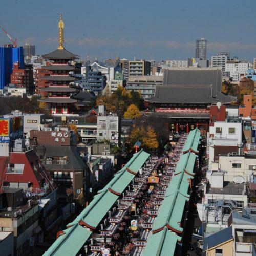 Tokyo 2017 – Asakusa puis Meguro