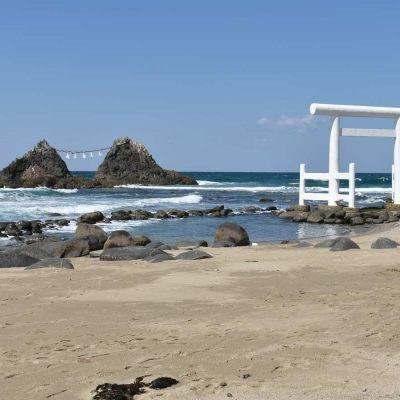 Fukuoka 2019 – Les rochers mariés de Sakurai Futamigaura