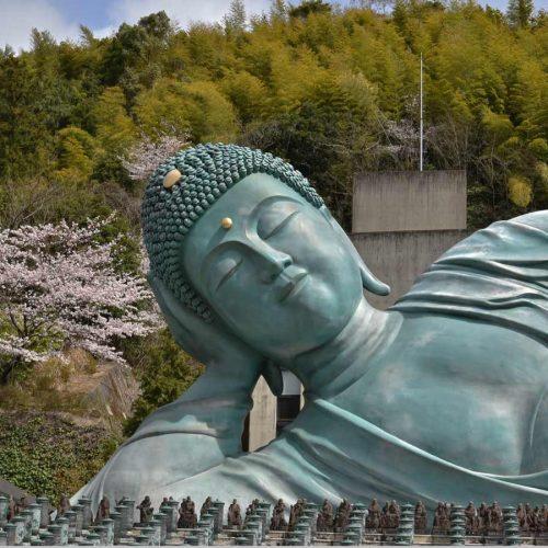 Fukuoka 2019 – le Temple Nanzoin et son Bouddha couché