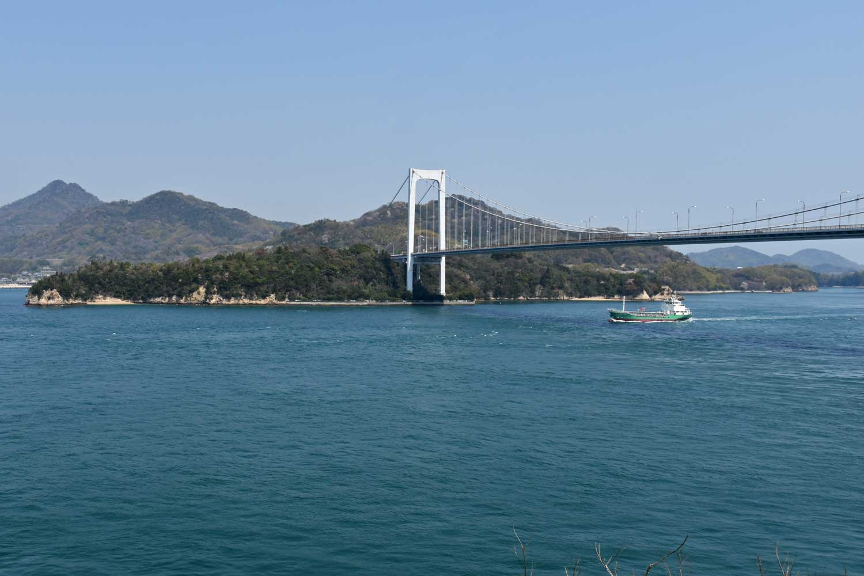 Imabari-2019-shimanami-kaido-hakata-oshima-pont-2