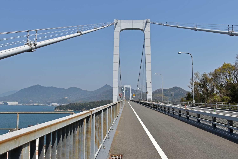 Imabari-2019-shimanami-kaido-hakata-oshima-pont