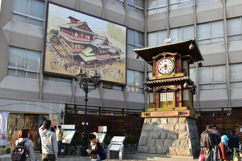 Matsuyama-2019-1-horloge-botchan-karakuri