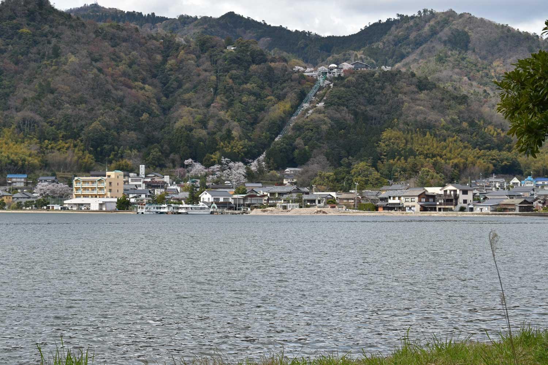 2019-amanohashidate-kasamatsu-park-vue-depuis-banc-de-sable
