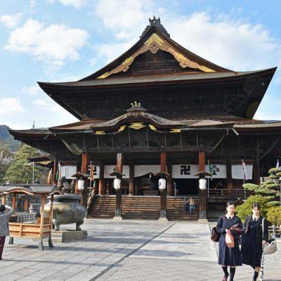 Nagano 2019 et le temple Zenko-ji