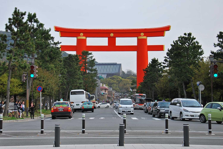 kyoto-2016-heian-jingu-torii-2