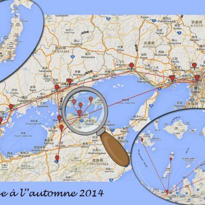 Itinéraire Automne 2014