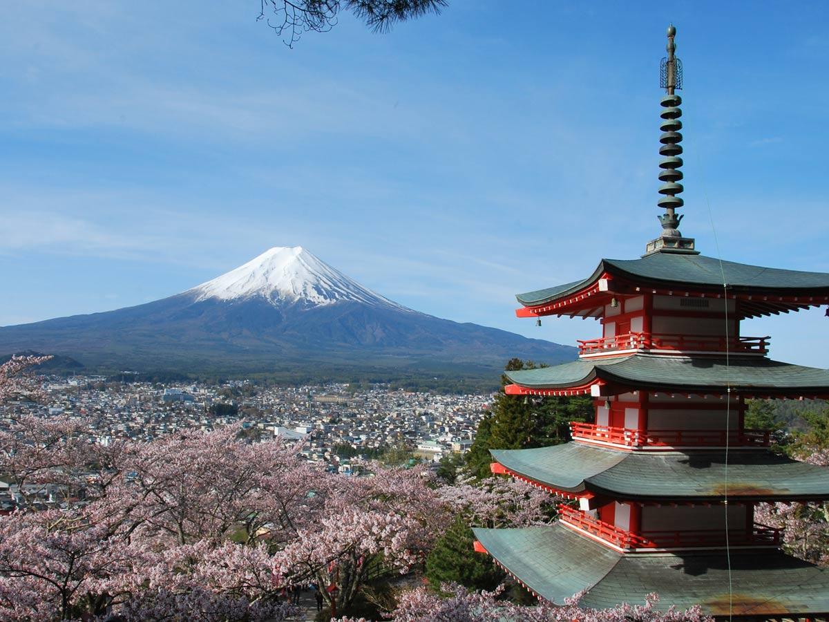 Kawaguchiko 2016 – La pagode Chureito et le Mont Fuji