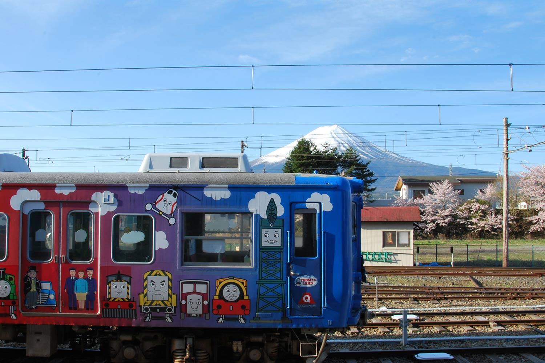 kawaguchiko-2016-gare-train-thomas-land-fuji