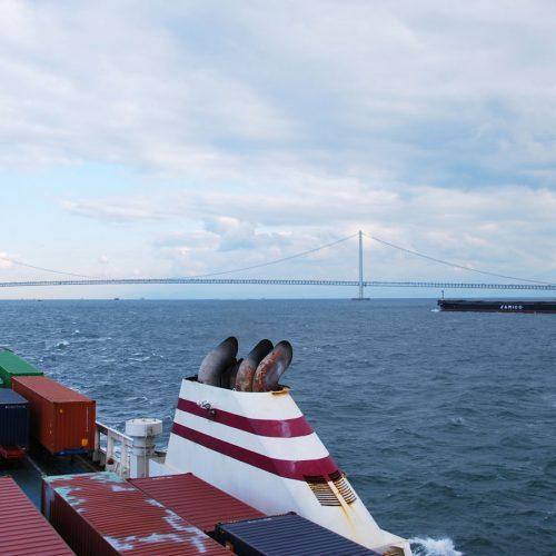 De Kobe à Takamatsu en Jumbo ferry
